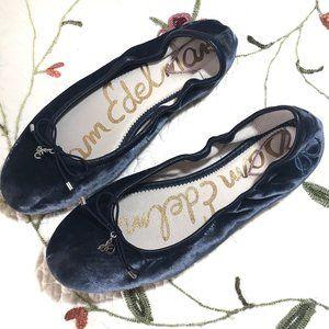 Sam Edelman Ballet Flats Felicia Blue 7
